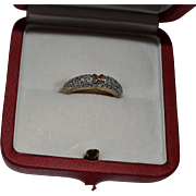 Gold 18K diamond ring