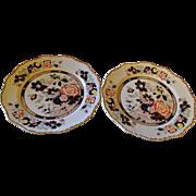 MASON'S Ironstone Mandarin plates set of two
