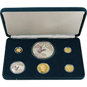 1996 National Park Foundation's Official Wildlife Preservation Coin Collection