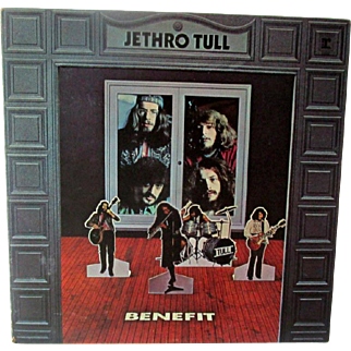 Vintage Record Vinyl Jethro Tull Benefit Album R 6400 Excellent Condition
