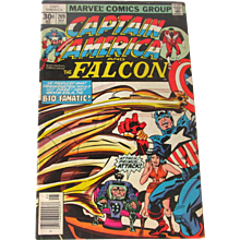 Vintage Marvel Comic Captain America And The Falcon Vol 1 Number 209 May 1977