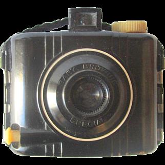 Vintage Eastman Kodak Baby Brownie Special film box camera circa 1930's Bakelite Art Deco
