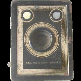 Vintage A8 Agfa Ansco Cadet Special Box Camera