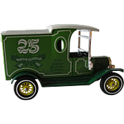 Models Of Yesteryear 1912 Ford Model T Delivery Van Y 12/45 Die Cast Green 25th Year Commerative Issue Scale 35:1 Circa 1978 Original Box!