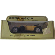 Vintage Model Of Yesterday: 1938 Lagonda Y-11 Matchbox Die Cast c.1972 MIB