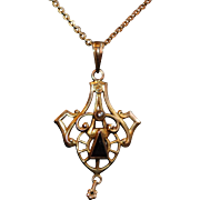 Edwardian Pendant and Chain
