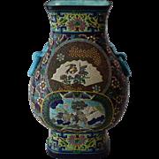 LONGWY Vase France - Circa 1880