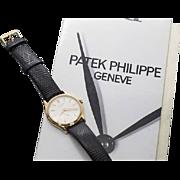 Patek Philippe Calatrava 18K Rose Gold Vintage Watch 3796, Vintage Watch, Men's Watch