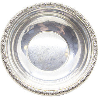 "Prelude International Sterling Silver 6"" Bowl"