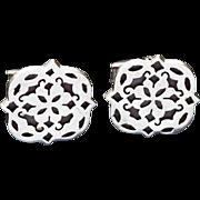 Vintage MAR Mexico Sterling Silver Cufflinks