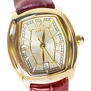 Invicta Lady's Leather Watch Gold Model 9934