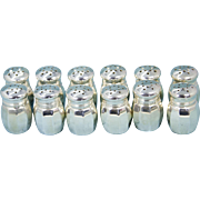 Set of 12 Reed & Barton & Empire Sterling Silver Salt & Pepper Shakers
