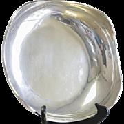 Juvento Lopez Reyes Mexico 925 Sterling Silver Wavy Serving Bowl
