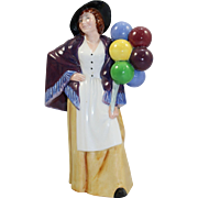 "Royal Doulton Figurine ""Balloon Lady"" HN 2935"