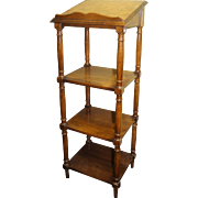 Good Quality Antique Style Library Whatnot Lectern Book Stand