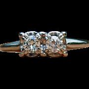 Jabel 18K White Gold Diamond Ring