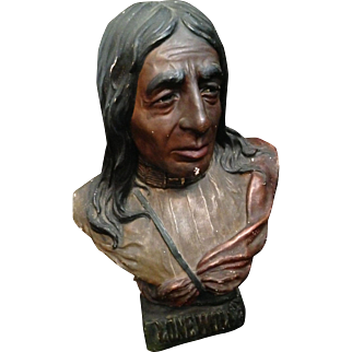 Chief Lone Wolf Bust