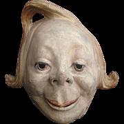 Paper Mache Mask - Panama-Pacific International Exposition