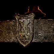 """Iron """"Knight"""" Chandelier"""
