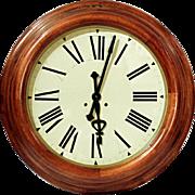 Large Round Railway Station Clock