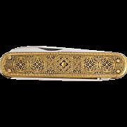 1950s Toledo Pocket Knife Solingen / Vintage German Kaufmann K55K Folding Knife