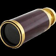 Antique French Opera Glass / Lorgnette Spyglass Telescope
