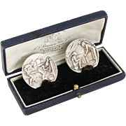 Vintage Silver Enema Buttons Tokens Medical Curiosities Enema Syringe