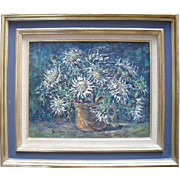 Julien DURIEZ (1900-1993) French Impressionist School 20th century.Oil Painting