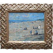 Claude GARDY (1949) French Modern Impressionist Normandy Oil Painting