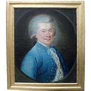 Seigneur de St Etienne. French School c1775. Oil Painting
