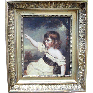 Master Hare After Joshua Reynolds, Oil Painting.