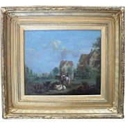 Follower of Albert CUYP (1620-1691)  18th Century  Dutch Landscape.
