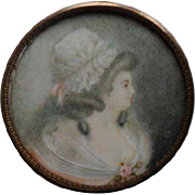 Charles Roze 18th Century  French  Portrait Miniature.