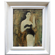 Juan Castilla (b1936) Oil Painting & Mixed Media.