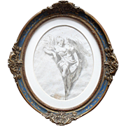 Antonio Bresciani (1720 - 1817) Old Master Drawing c1760.