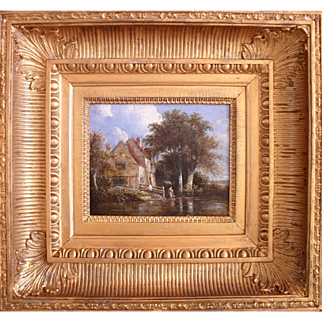 Circle of George VINCENT, Norwich School (1796-c.1831) Oil Painting