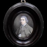 John Alexander (1686 to 1760) Scottish school. Portrait Miniature