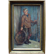 Victor LAINÉ (1830-1911) French Barbizon School Oil Painting