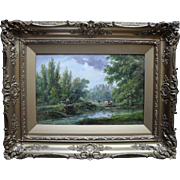 Henry  EARP (1831-1914) Cousin of US Marshal Wyatt Earp, Landscape Oil Painting,