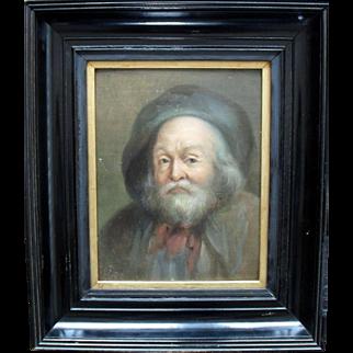 Carl Joseph Franz c1860 German School Oil Painting.