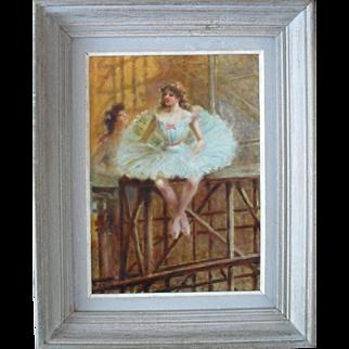 Paul Eugène MESPLES (b1849) French School Oil Painting