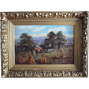 John Joseph HUGHES (c.1827-1908) Oxford/West Bromwich Oil Painting
