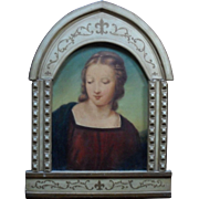 Italian School 19th Century Portrait of a Saint Oil Painting