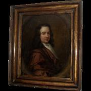 English School c1690 Portrait Oil Painting