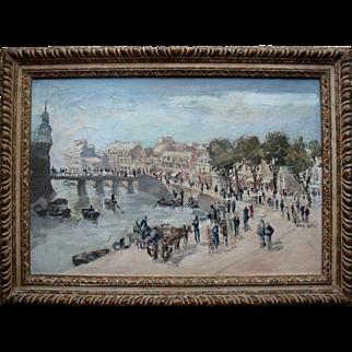 Eve Kirk (1900-1969) Slade School English Post Impressionist