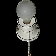 Vintage Vanity & Bathroom Porcelain Wall Sconce