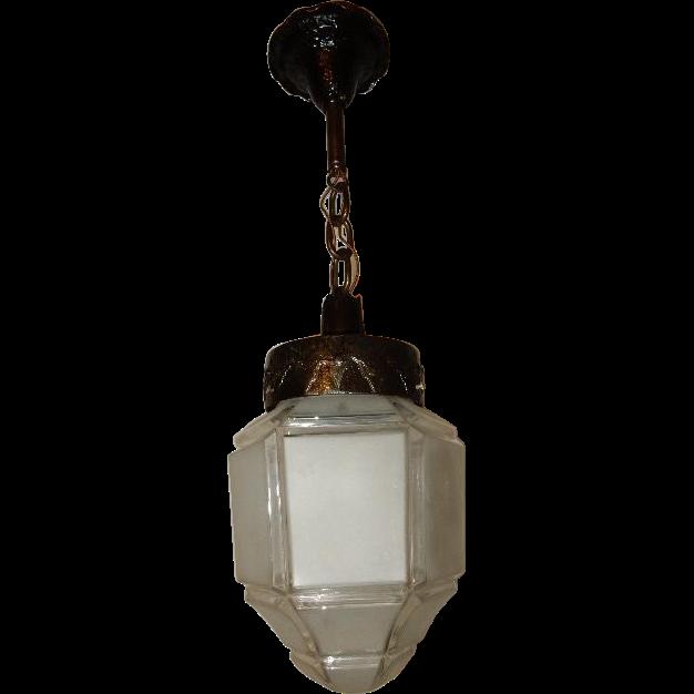 craftsman arts crafts pendant lighting fixture w large. Black Bedroom Furniture Sets. Home Design Ideas