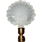Aladdin Moonstone Shell Finial for Table Lamp