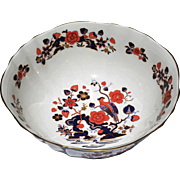Aynsley Blue/Gold/Rust 'Bird of Paradise' Service Bowl