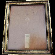 Vintage Over-Sized Gilt-Wood Frame for Portrait, Wedding Photograph, Art - Red Tag Sale Item